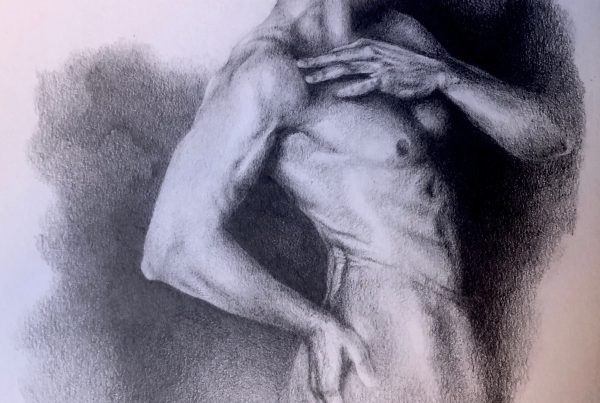 Ale Feijó | Sin nombre | Dibujo a lapiz sobre papel A4