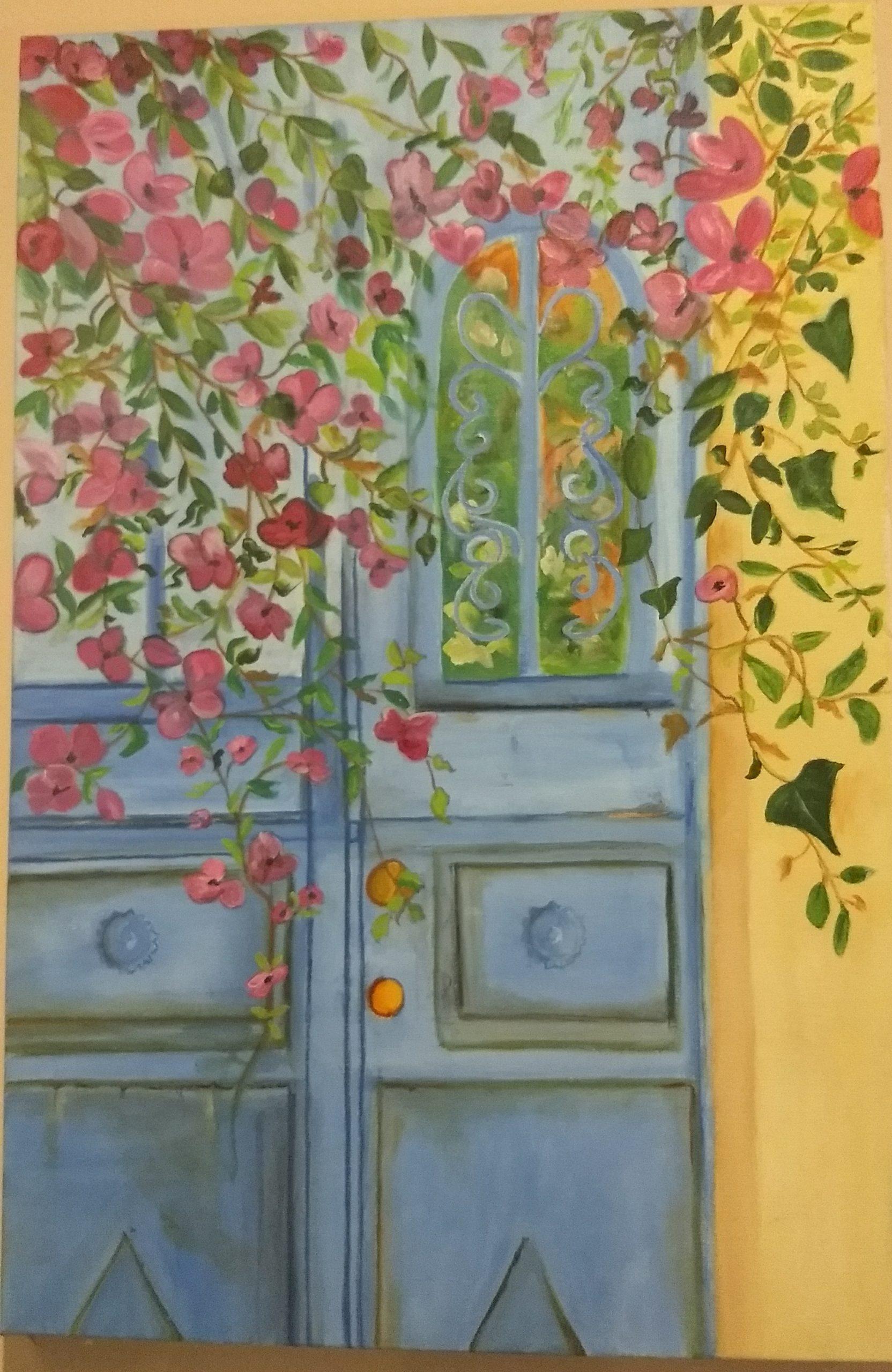 Silvia Portaluppi | Serie Natural. La calle de los suspiros. Oleo 60 x 40 cm.